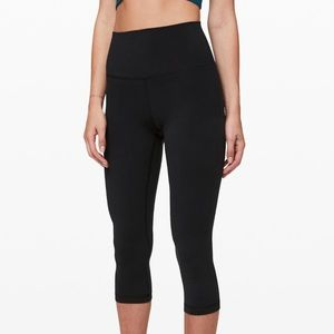 Lululemon Athletica Black Crop Pant